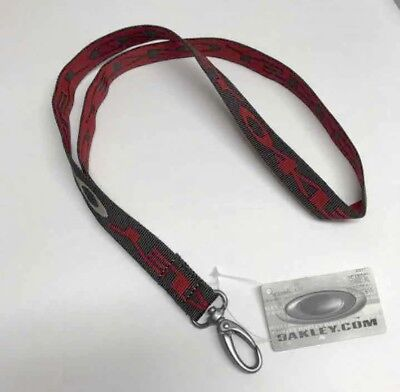 Oakley Stretch Earth Brown Lanyard Keychain Army NEW Rare Discontinued (Oakley Lanyards)