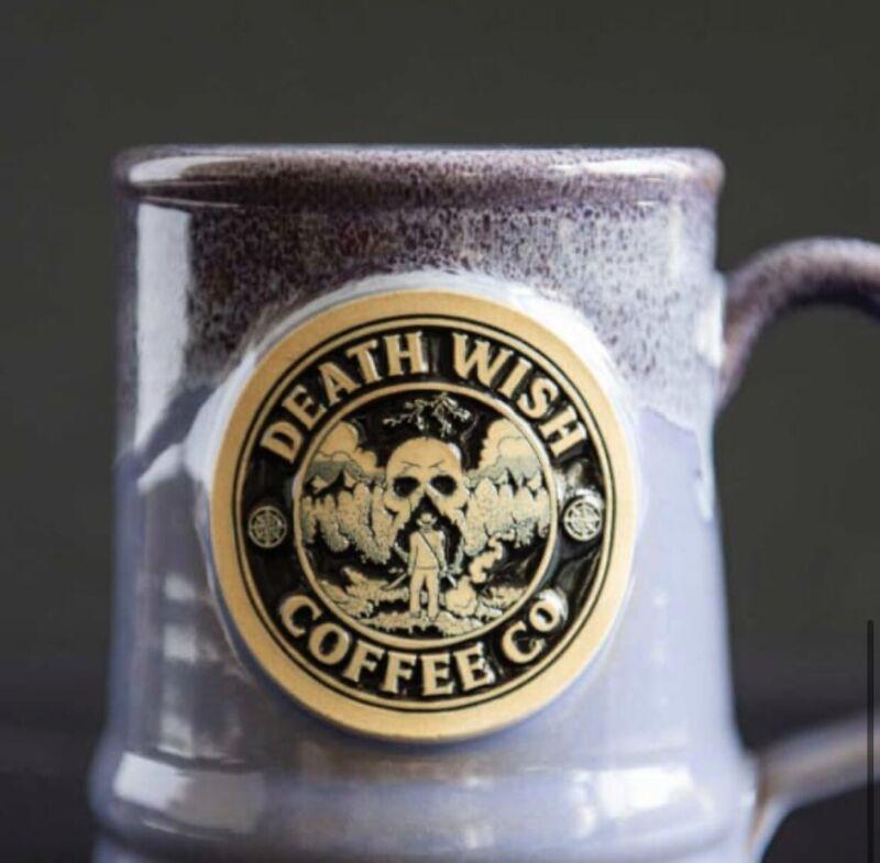 Death Wish Coffee Mugs - Limited Edition - ADVENTURE MUG 2021