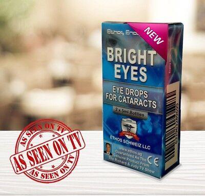 Ethos Bright Eyes NAC Eye Drops for Cataracts 1 Box 10ml