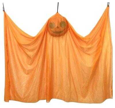 7.6x119cm 120cm Halloween Spooky Wandbehang Kürbis Geist Innen - Halloween Innen Dekoration