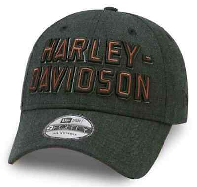 Harley Davidson Mens Embroidered Graphic 9Forty Baseball Style Cap 99419-20VM