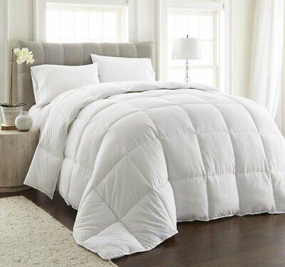 Heavy Goose Feather Comforter QUEEN SIZE Down Super Soft Luxury Warm Winter