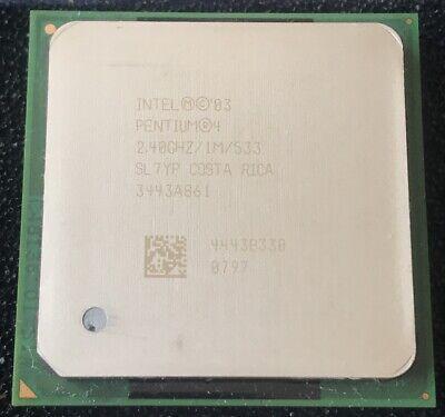 P4-2.4 Ghz PGA478 533MHZ 1MB Cache 90NM Prescott
