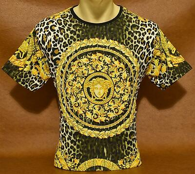 Brand New With Tags Men's VERSACE Short Sleeve T-SHIRT Size M