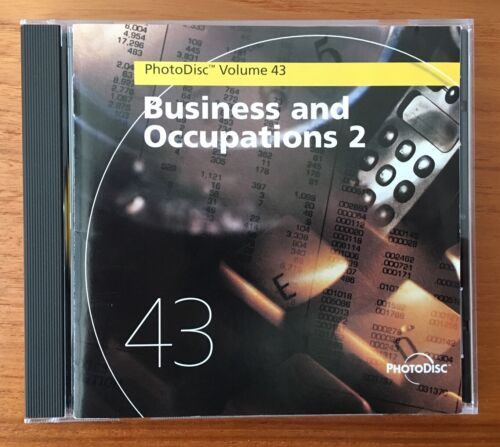 PhotoDisc - Volume 43 - BUSINESS AND OCCUPATIONS 2 - Stock Photos Disk