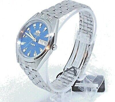 New Orient Automatic Japan Men Silver Watch FAB00009L9 W/ Box