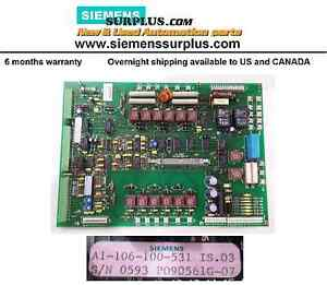 Siemens-Interface-Circuit-Board-A1-106-100-531-IS03