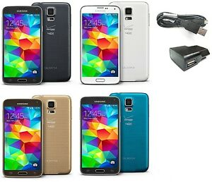 Samsung-Galaxy-S5-G900V-16GB-Verizon-GSM-AT-amp-T-T-Mobile-UNLOCKED-SmartPhone-SR