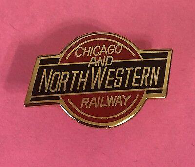Railroad Hat-Lapel Pin/Tac - C&NW Chicago & Northwestern  #1011-NEW