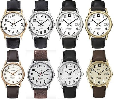Timex Classic Gents Watch - Easy Reader - Indiglo - Leather Strap online kaufen