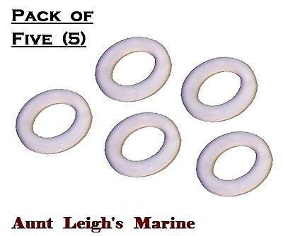 Omc Lower Unit - Lower Unit Drain Plug Washer (5-Pk) Johnson Evinrude OMC Cobra 18-4248-9 311598