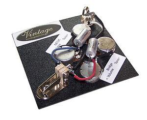 vsgk 1a vintage sg guitar wiring kit for epiphone amp gibson audio taper pots ebay. Black Bedroom Furniture Sets. Home Design Ideas