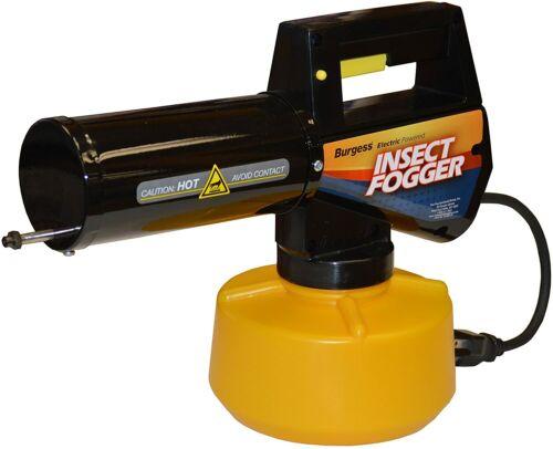 Burgess 960 Electric Powered Mosquito Bug Insect Fogger + Bonus Pesticide