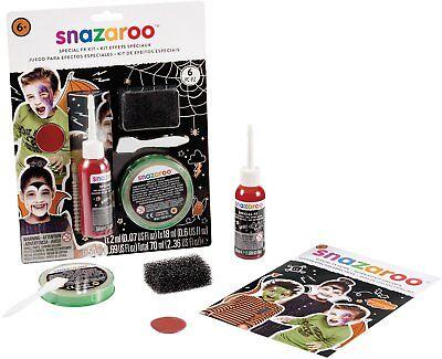 Halloween Special FX Kit Snazaroo Fancy Dress Make Up Face Paint Fake Blood ()