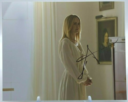 Sarah Paulson Signed AMERICAN HORROR STORY 10x8 Photo AFTAL OnlineCOA