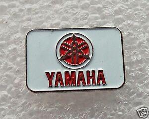 Red Yamaha Motorcycle enamel pin / lapel badge cruiser sportsbike custom
