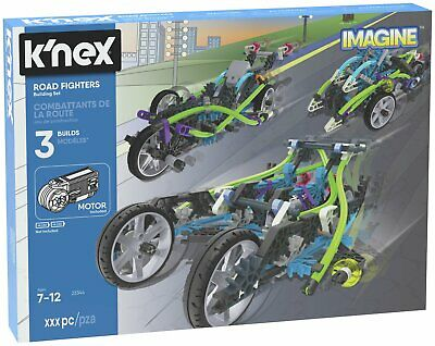 K'NEX 213 Part Road Fighters Building Set.