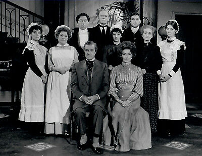 UPSTAIRS DOWNSTAIRS (1973) SIGNED AUTOGRAPHS
