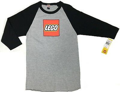 Lego LEGO Logo Raglan T-Shirt NWT Licensed & Official -