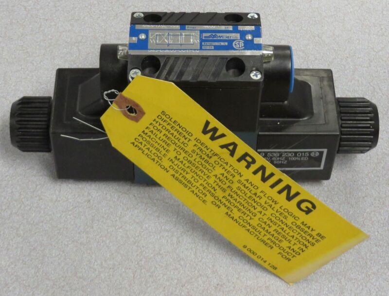MILLER FLUID POWER Hyd. Directional Control Valve M/N: 583-D3E-138/583-D3ECC....