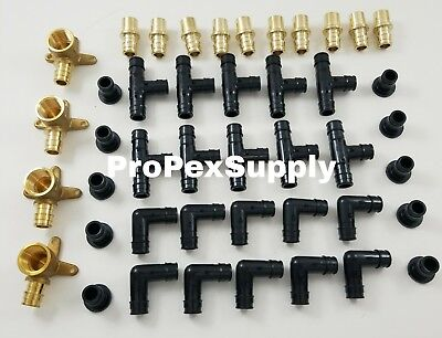 44 -12 Propex Ep Fittings - Tees - Elbows- Cap - Adapters - Pex Expansion