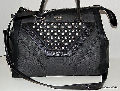 GUESS Tough Luv Black Crossbody Satchel Bag Purse Handbag Sac Bolsa NWT , usado comprar usado  Enviando para Brazil