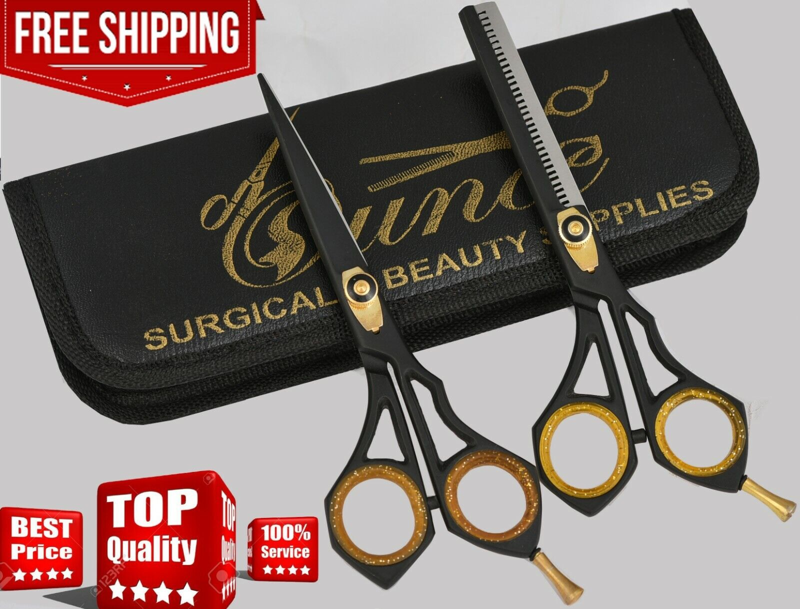 Professional Salon Hair Cutting Thinning Scissors Barber She