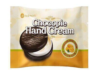 [The Saem] Chocopie Hand Cream Mango 35ml - Korea Cosmetic
