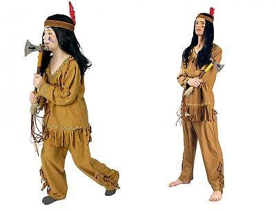 Kostüm Indianer Indianerkostüm Jungen Herren bis Gr60  Karneval Fasching Western