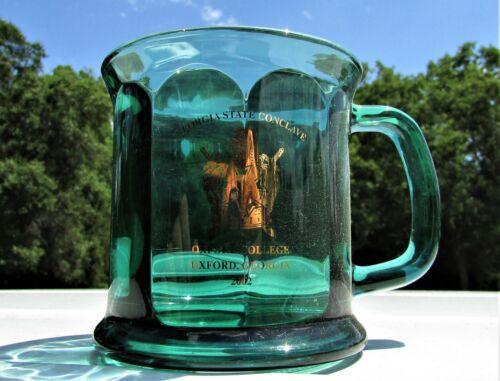 2001-02 Georgia State Conclave Souvenir Mug - Associated DeMolay Chapters - F&AM