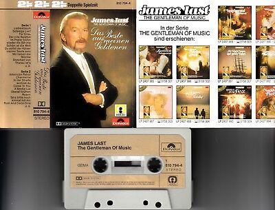JAMES LAST - Das Beste aus meinen Goldenen > MC Musikkassette 2 LP ,polydor