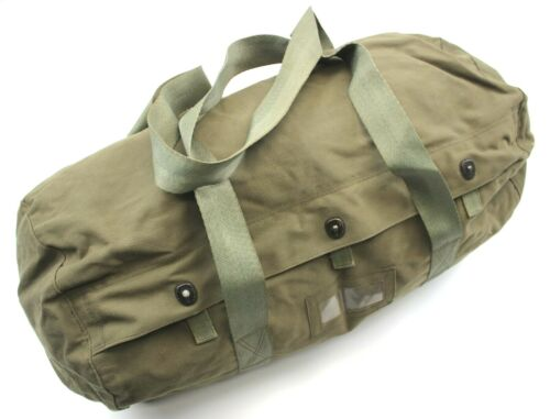 GENUINE SERBIAN ARMY HOLDALL BAG in OLIVE GREEN