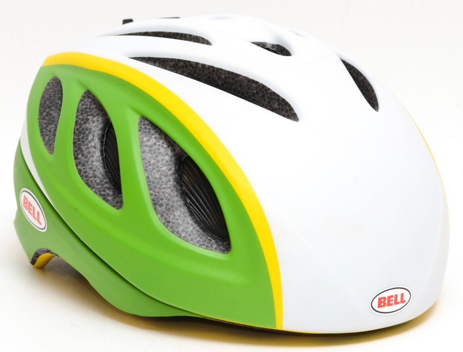 Bell Star Pro Road Bike Helmet Men SMALL 51-55cm White Green