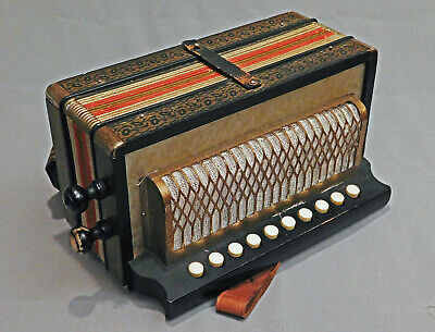 Vintage HOHNER  Single Row  Diatonic Accordion  Germany