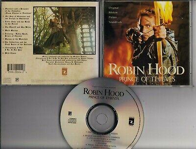 ROBIN HOOD PRINCE OF THIEVES Soundtrack MICHAEL KAMEN CD USA MORGAN