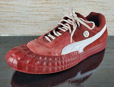 PUMA by MIHARA YASOHIRO Men's Size 12 Red Sport Low Sneakers Athletic Shoes