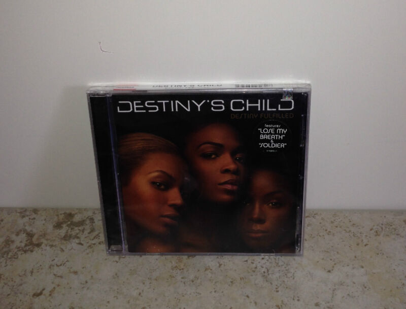 Genuine Factory Sealed and Labeled Destiny Fulfilled by Destiny's Child CD!