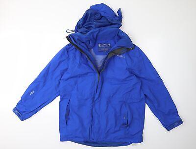 Mountain Warehouse Mens Blue   Rain Coat  Size XL