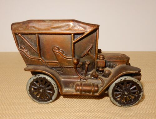 Awesome vintage 1910 model Stanley Steamer car coin bank