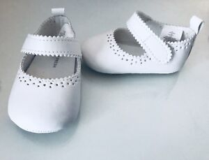 Baby Girl's Sz. 2  White Shoes. Worn Once. $4.00