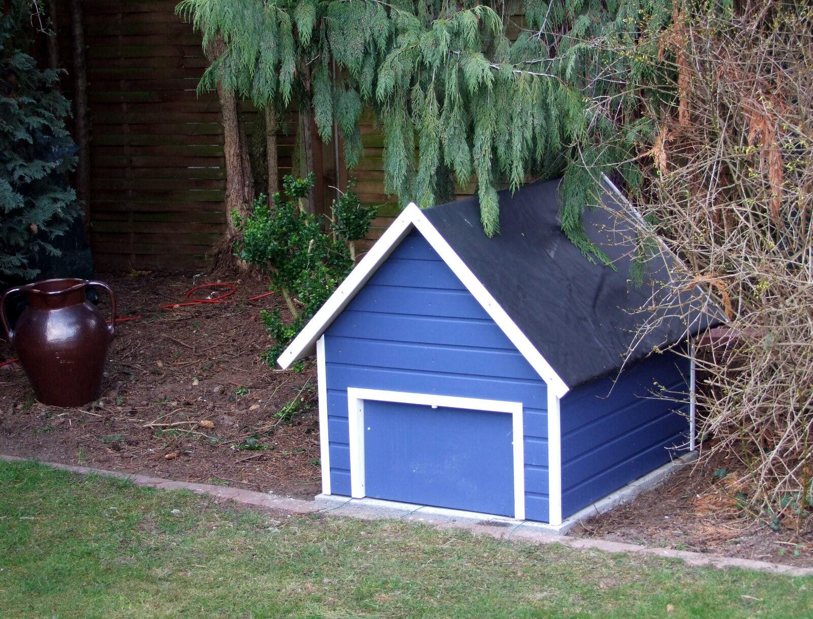 garage f r m hroboter mit automatischer klappe bauplan eur 10 00 picclick be. Black Bedroom Furniture Sets. Home Design Ideas