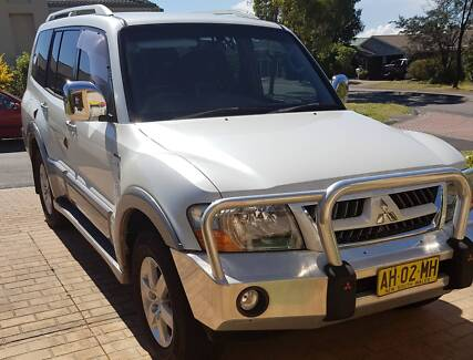 2005 Mitsubishi Pajero Platinum Edition NP Auto 4x4 MY05 Blue Haven Wyong Area Preview