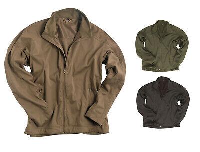 NEU SOFTSHELL Jacke LIGHT WEIGHT 3-Lagen-Laminat, oliv schwarz coyote Gr. S-3XL Softshell Jacke Light