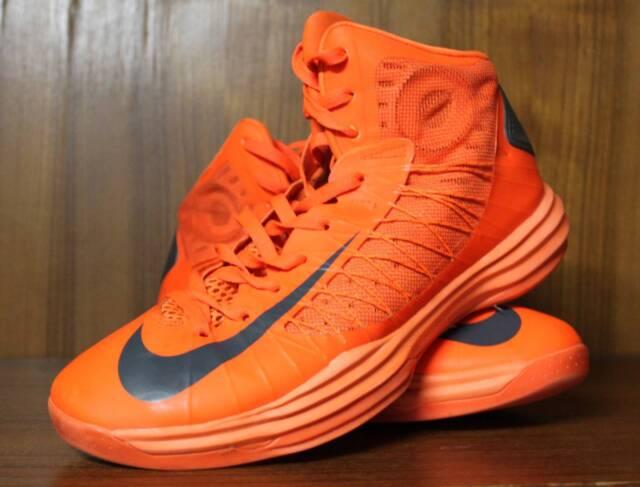 newest bdabc dda1f ... low price mens nike lunar hyperdunk 2012 orange blaze black size 8 9  mens shoes gumtree