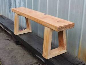 solid pine sitting/hall bench Ascot Vale Moonee Valley Preview