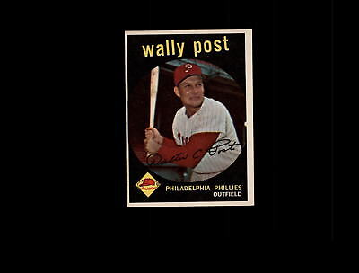 1959 Topps 398 Wally Post EX-MT #D808313