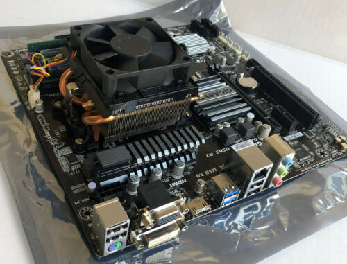 GIGABYTE GA-78LMT-USB3 R2 Motherboard AM3+ AMD FX-8350 CPU Ballistix 8GB RAM