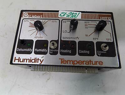 Liebert Humidity And Temperature Controller H11t12
