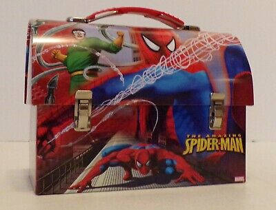 Marvel - THE AMAZING SPIDER-MAN  Small Lunch Box/Tin Pail