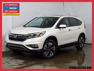 2015 Honda CR-V Touring + CUIR + GPS + TOIT PANORAMIQUE +++